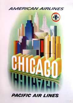 American Airlines - Chicago Pacific Airlines by Henry K. Bencsathy