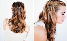 Znalezione obrazy dla zapytania easy elegant hairstyles