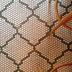 Floor at Jentrified via Erika Powell at Urban Grace