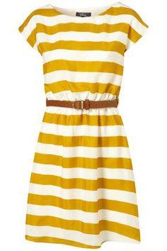 spring dress ... stripes!