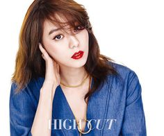 After School UEE 유이 intense red lip charisma