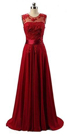 KMFORMALS Women's Long Lace Prom Evening Dresses Size 4 Burgundy Kmformals http://www.amazon.com/dp/B00VDYH3AC/ref=cm_sw_r_pi_dp_z5d.vb02PEATB