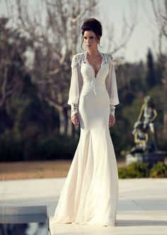 Tal Kahlon Wedding Gown, for more visit: www.facebook.com/Gelinligimm