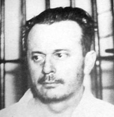 """Arthur R. """"Doc"""" Barker (June 1899 – January was an American criminal, the son of Ma Barker and a member of the Barker-Karpis gang along with Alvin Karpis. Baby Face Nelson, Famous Outlaws, Mafia Gangster, Bank Robber, American History, American Crime, Old West, History Facts, Public Enemies"""