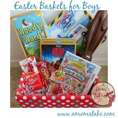 50+ Easter Basket Filler Ideas for Boys and girl (beyond just candy!) by #amomstake