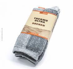 Super-termo ponožky EXTREME sivo/biele, Felbers
