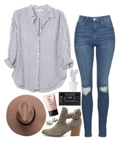 """""""then i'm laying out in my winter clothes and wishing i was gone"""" by manderz7012 ❤ liked on Polyvore featuring Xirena, Sole Society, Topshop, NARS Cosmetics and Crate and Barrel"""