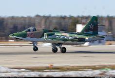 Sukhoi Su-25 RF-93872 / 25 RED (cn 25508107053)