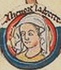 "Eleanor the ""Fair Maid of Brittany"", 5th Countess of Richmond, also known as Damsel of Brittany or Pearl of Brittany,  was the eldest daughter of Geoffrey Plantagenet and Constance, Duchess of Brittany. As the rightful heiress to vast lands including England, Anjou, and Aquitaine since 1203 and thus a potential threat to the throne of her uncle John of England and cousin Henry III of England, she was imprisoned from 1202 and thus became the longest imprisoned member of an English royal…"