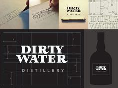 Hand Lettering, Dirty Water