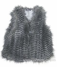 3Pommes Faux-fur Vest