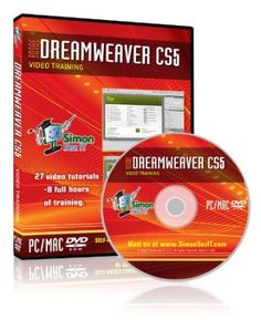 Learn Adobe Dreamweaver CS5 Training Tutorials on DVD
