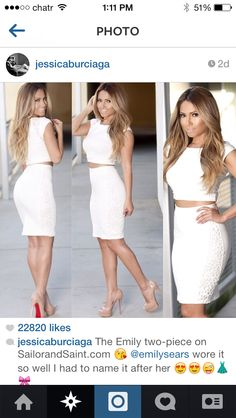 Image in MoDe(Fashion Lover)👗 collection by EsY Online Clothing Boutiques, Her Style, Sexy Dresses, Dress To Impress, Fashion Forward, Dress Skirt, Celebrity Style, Cute Outfits, Sexy Outfits