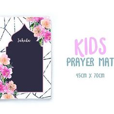 Come to prayer; come to success!Really excited about my new prayer mats! Grab them from my Etsy shop. Link in my bio. Muslim Prayer Rug, Prayers For Children, Islamic Gifts, Cute Diys, Cover Design, Success, Etsy Shop, Rugs, Link