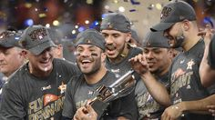 The Houston Astros will face the Los Angeles Dodgers in the World Series. The Astros beat the New York Yankees 4-0 Saturday night in Houston — the series went seven games.