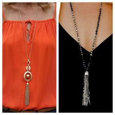 Last chance to take advantage of our TWO-FOR-THURSDAY deal, when you buy two items you get 15% off both items. Why not treat yourself to two beautiful necklace and save at the same time? www.jacketsociety.com/shop/