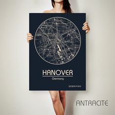 HANOVER Germany CANVAS Map Hanover Germany Poster City Map Hanover Art Print Hanover Germany poster Hanover map art Poster Hanover map by ArchTravel on Etsy https://www.etsy.com/listing/499367610/hanover-germany-canvas-map-hanover