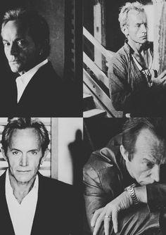 Lance Henriksen B/W collage