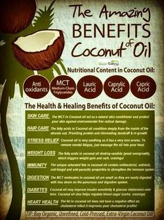 Coconut oil has a multitude of health benefits, which include but are not limited to skin care, hair care, improving digestion and immunity against a host of infections and diseases. The oil is used not just in tropical countries, where…Read more → Best Coconut Oil, Coconut Oil For Teeth, Natural Coconut Oil, Cooking With Coconut Oil, Coconut Oil Uses, Benefits Of Coconut Oil, Organic Coconut Oil, Oil Benefits, Health Benefits