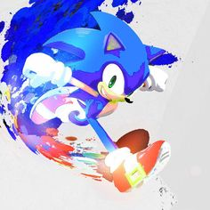 Saturated Paint - Sonic The Hedgehog by NeonstarMars on DeviantArt