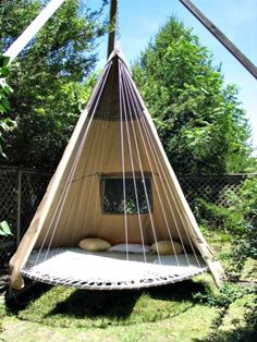 DIY Camping hammock ideas Pictures Balcony hammock Garden stand Indoor hammock b. - DIY Camping hammock ideas Pictures Balcony hammock Garden stand Indoor hammock bed Macrame Couple O - Indoor Hammock Bed, Hammock In Bedroom, Diy Hammock, Hammock Beach, Portable Hammock, Camping Hammock, Hammock Chair, Diy Camping, Teepee Bed