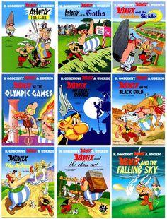 must read Astrix and Obelix comics