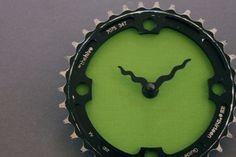 Bicycle clock, via Etsy.