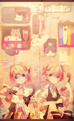 Rin and Len by △○□×