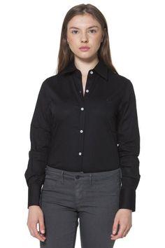Camicia Donna Fred Perry (BO-31202149 9102) colore Nero