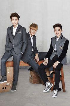 Suho, Tao, and Kyungsoo (D.O)   131202 Ivy Club