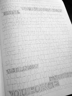 Sketchbook - Amity Parks Calligraphy