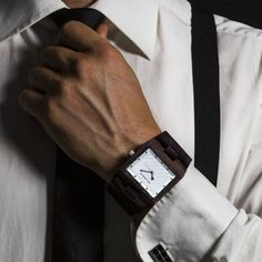 """awesome Accessoires : The """"Domino"""" Watch by The Garwood Der Gentleman, Gentleman Style, Men's Fashion, Fashion Watches, Sharp Dressed Man, Well Dressed Men, Men Accesories, Fashion Accessories, Professional Dresses"""
