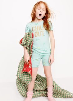 Or browse by Looks We Love for our favorite girls' clothes and fashions of the season. Kids Pjs, Kids Pajamas, Kids Girls, Baby Kids, Preteen Girls Fashion, Kids Fashion, Cute Fashion, Kids Studio, Baby Dress Design