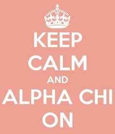 alpha chi omega <3