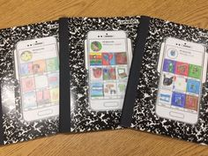 """""""I use these """"phones"""" I found on TpT to break the ice with my newcomers. It allows them to communicate their interests through drawing (later used for writing). I attach them to their journals to enjoy all year. English Language Learners, Twitter Sign Up, Journals, Phones, Ice, Writing, Telephone, Journal Art, Ice Cream"""
