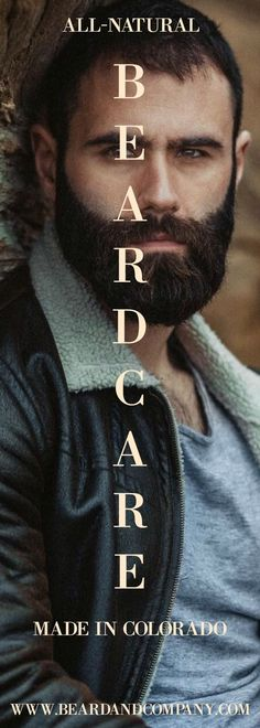 All-natural beard care products. Proudly made in Colorado.