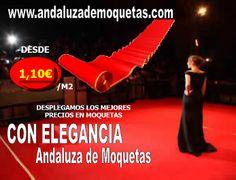 Moquetas para grandes eventos. www.andaluzademoquetas.com