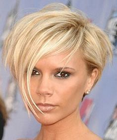 #VictoriaBeckham #punk #pixie #hairstyle