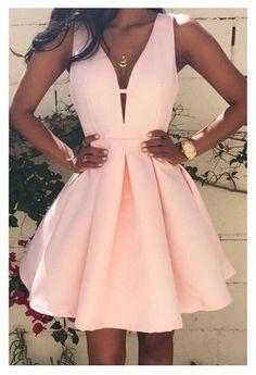 New Arrive Vestidos Women Fashion Casual Dress 2016 v-Neck Sleeveless Pink Evening Party Dresses Vestido de festa Brasil Trend