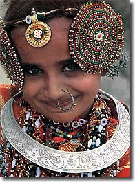 India | Rabari Girl | Photographer unknown