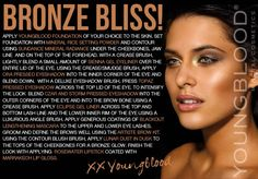 Youngblood Mineral Cosmetics Tutorial - Bronze Bliss!