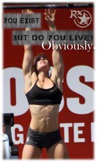 CrossFit. Julie Foucher.