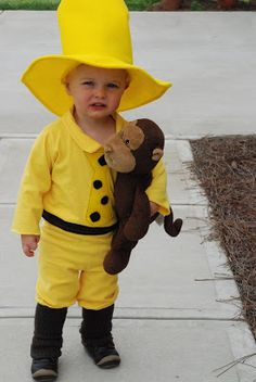 f0d00b00540 Man in the Yellow Hat Costume - via wimsydesigns.blogspot.com Best Kids  Costumes