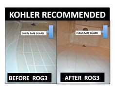 On the bottom of a Kohler bathtub there is a safe slip guard this is the cleaner recommended by the Kohler company so it will clean but not scratch your finish, ROG3.com   because you spent a lot of money on a great tub Please don't ruin it