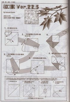 Origami for Everyone – From Beginner to Advanced – DIY Fan Origami Maple Leaf, Origami Leaves, Origami Diagrams, Diy And Crafts, Paper Crafts, Diy Fan, Useful Origami, Origami Design, Origami Tutorial