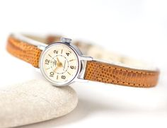 Mechanical woman's watch Dawn very small ladies watch by SovietEra