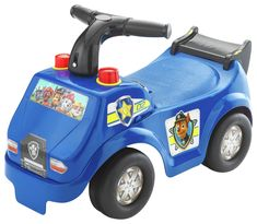 Police Racer Ride On with interactive electronic activities to play fun sounds, revving engine and lively music. Hear lively music and fun sounds with flashing lights. Press for revving engine sound, realistic siren and horn. Play your own music with colourful piano keys. Wide wheels. Easy grip handles. Size H33, W48, D25cm. Weight 1.5kg. Maximum user weight 25kg. Minimal assembly. Batteries required: 2 x AA (not included). For ages 1 year and over. Manufacturer's 1 year guarantee…