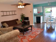 Dog-Friendly, North End Oceanside, Walk thru Canopy of Trees to Beach! Vacation Places, Virginia Beach, Dog Friends, Canopy, Condo, Bedroom, Travel, Furniture, Home Decor