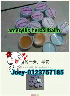 Ameryllis nature herbal balm nice packaging for pimple,scar,rashes,mosquito bite,wrinkle,enzema,only rm30 west Malaysia and east msia rm40 with free pos laju. Multipurpose balm for skin use pm Me now whatsapp 0123757185 wechatjoey2383. Joeyshoppingmalls.blogspot.com