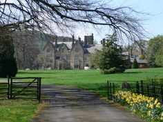 Llantysilio Hall, near Llangollen, a case study from my PhD on the Development of the Welsh Country House.